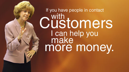 If you have contact with customers, I can help you make more money.